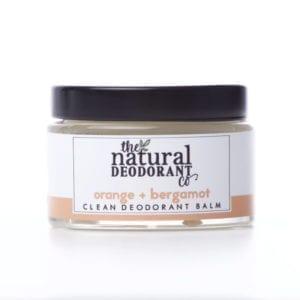 The Natural Deodorant Co Clean Orange & Bergamot