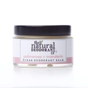 The Natural Deodorant Co Clean Palmarosa & Mandarin