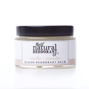 The Natural Deodorant Co Clean Vanilla & Manuka