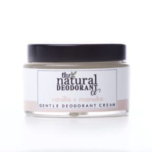 The Natural Deodorant Co Gentle Vanilla & Manuka