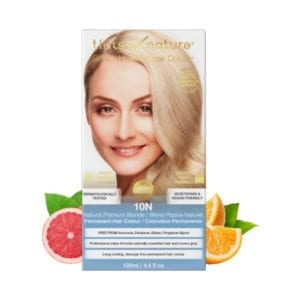 Tints of Nature 10N Natural Platinum Blonde Permanent Hair Dye