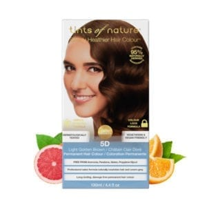 Tints of Nature 5D Light Golden Brown Permanent Hair Dye
