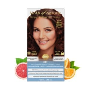 Tints of Nature 5R Rich Copper Brown Permanent Hair Dye