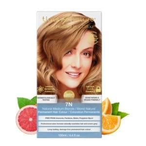 Tints of Nature 7N Natural Medium Blonde Permanent Hair Dye