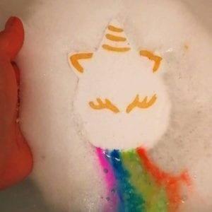 Unique Creations Rainbow Bath Bomb