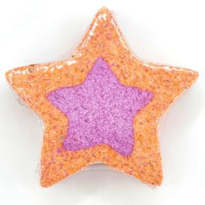 Unique Creations Rhubarb & Custard Star Bath Bomb