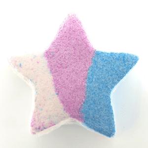 Unique Creations Snow Fairy Star Bath Bomb