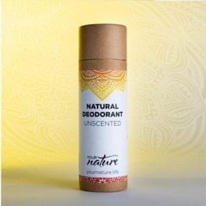 Your Nature Unscented Natural Deodorant