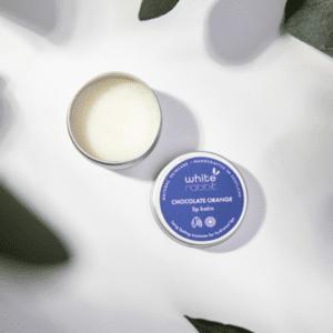 White Rabbit Skincare Chocolate Orange Lip Balm