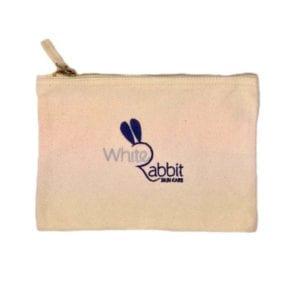 White Rabbit Skincare Organic Cosmetic Bag