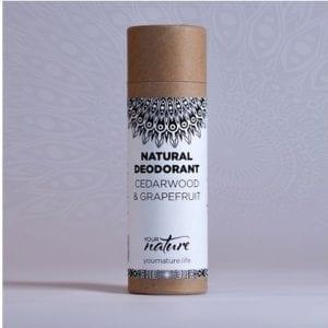 Your Nature Cedarwood and Grapefruit deodorant