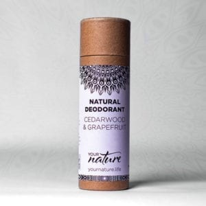 Your Nature Cedarwood and Grapefruit Deodorant