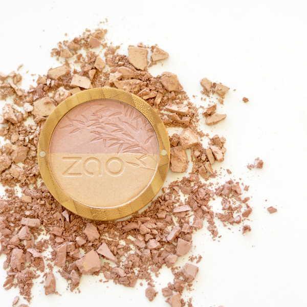 ZAO Bamboo Shine-up Powder Duo