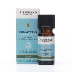 Tisserand Organic Eucalyptus Essential Oil