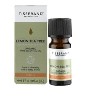Tisserand Organic Lemon Tea Tree Essential Oil