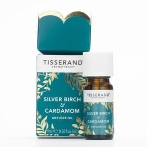 Tisserand Silver Birch & Cardamom Diffuser Oil
