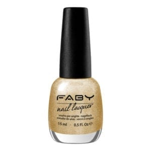 Faby E-Gold Nail Polish