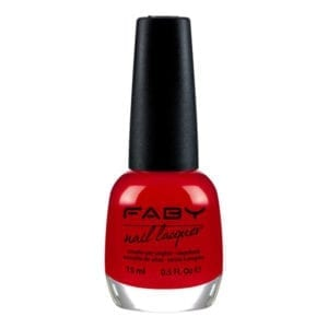 Faby Faby's Red Nail Polish