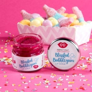 Pura Cosmetics Blissful Bubblegum Lip Scrub