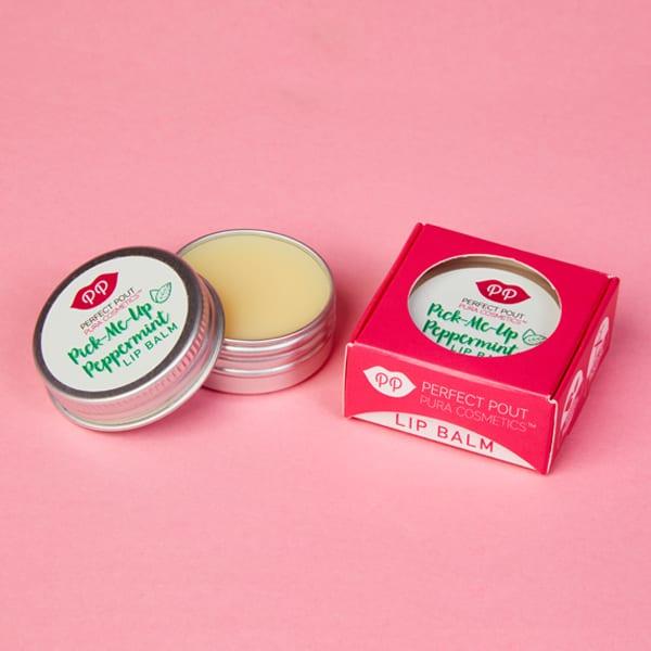Pura Cosmetics Pick-Me-Up Peppermint Lip Balm