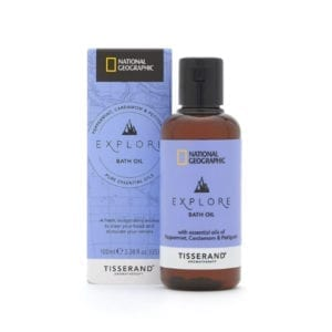 Tisserand National Geographic Explore Bath Oil