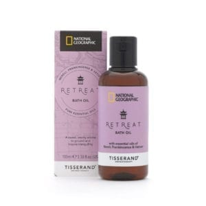 Tisserand National Geographic Retreat Bath Oil