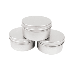 Travel Size Refillable Aluminium Pots - Medium