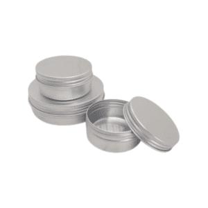 Travel Size Refillable Aluminium Pots - Mixed Group