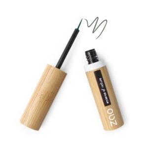 Zao Liquid Eyeliner Vert Kaki 075