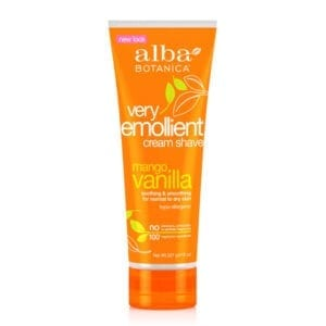 Alba Botanica Very Emollient Mango Vanilla Cream Shave