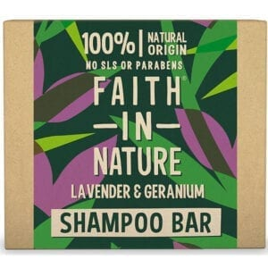 Faith In Nature Lavender & Geranium Shampoo Bar