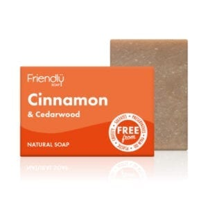 Friendly Soap Cinnamon & Cedarwood Soap