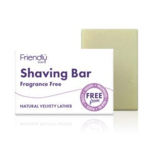 Friendly Soap Fragrance Free Shaving Soap