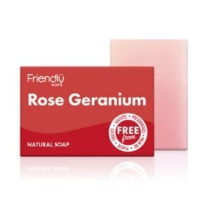 Friendly Soap Rose Geranium Soap