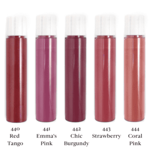 Zao Lip Ink Colour Swatch