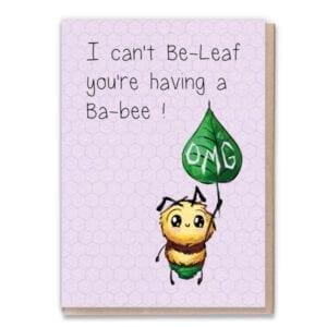1 Tree Cards Ba-Bee Leaf