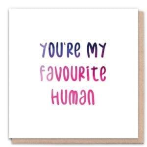 1 Tree Cards Favourite Human