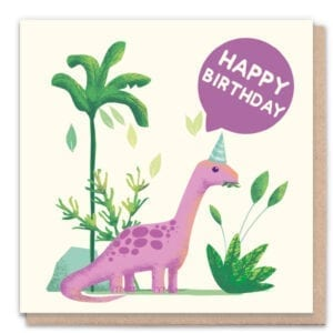 1 Tree Cards Happy Birthday Dinosaur