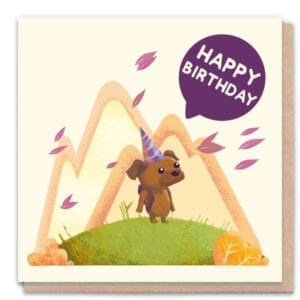 1 Tree Cards Happy Birthday Dog
