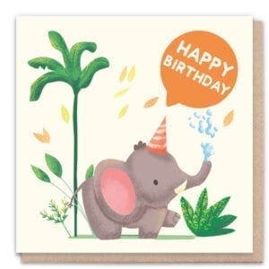 1 Tree Cards Happy Birthday Elephant