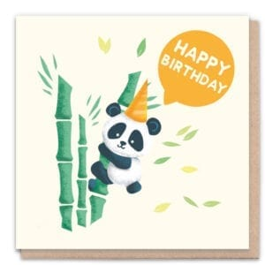 1 Tree Cards Happy Birthday Panda