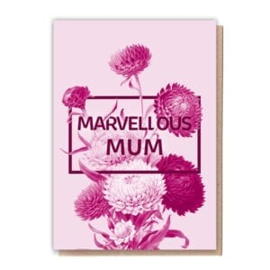 1 Tree Cards Marvellous Mum