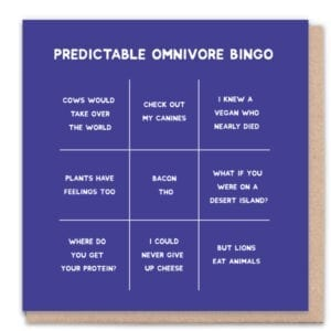1 Tree Cards Omnivore Bingo
