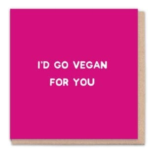 1 Tree Cards Vegan For You