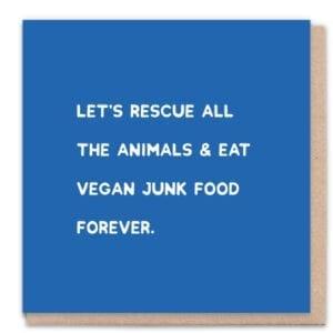 1 Tree Cards Vegan Junk Food
