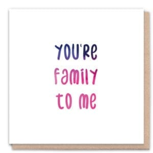 1 Tree Cards You're Family