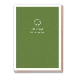 1 Tree Cards You're Tough