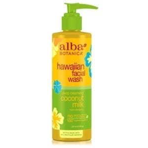 Alba Botanica Deep Cleansing Coconut Milk Hawaiian Facial Wash