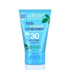 Alba Botanica Kids Mineral Sunscreen SPF30