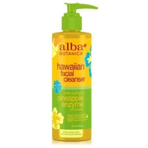 Alba Botanica Pore Purifying Pineapple Enzyme Hawaiian Facial Cleanser